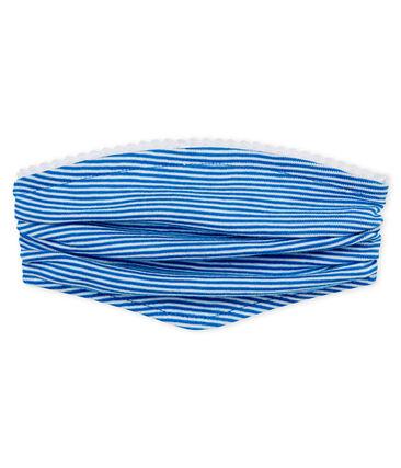 Baby girls' striped headscarf