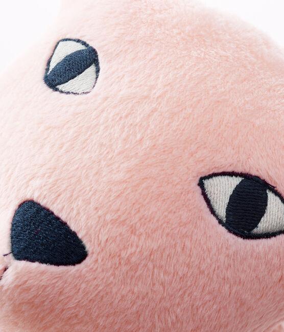 Velour Panther Cushion Minois pink