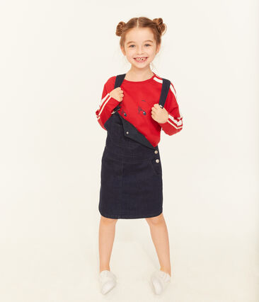 Girls' Dungaree Dress