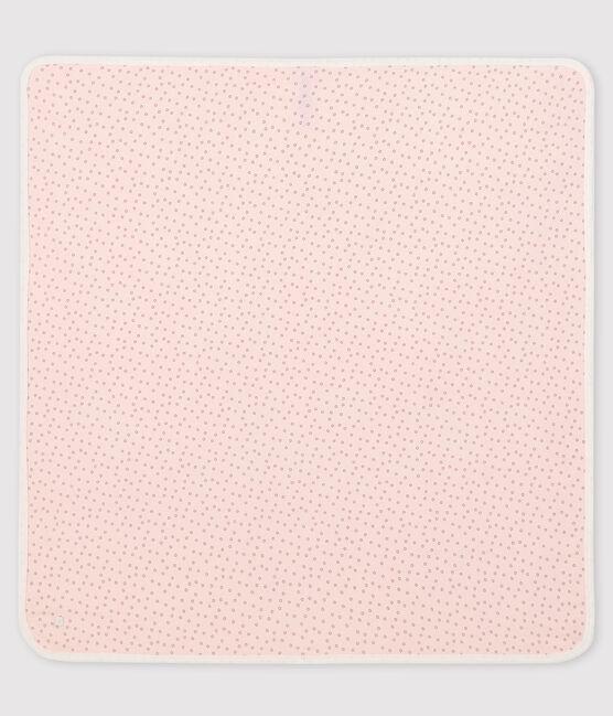 Babies' Ribbed Maternity Blanket Fleur pink / Concrete grey