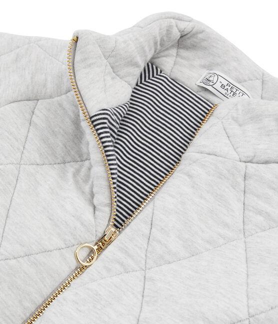Women's Tube Knit Jacket Beluga grey
