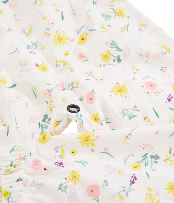 Girls' WIndbreaker Marshmallow white / Multico white