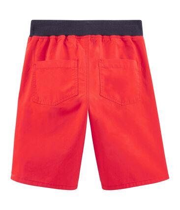 Boys' Bermuda Shorts Terkuit red