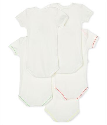 Baby Girls' Short-Sleeved Bodysuit - 5-Piece Set . set