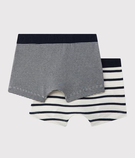Boys' Stripy Boxer Shorts - 2-Pack . set