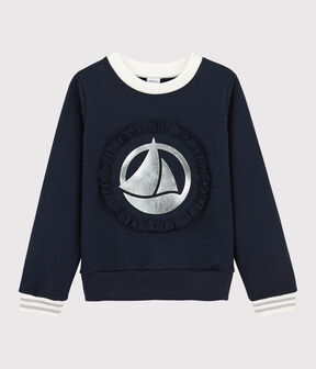 Girls' Sweatshirt Smoking blue