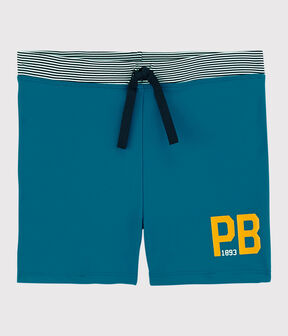 Boys' Recycled Swimming Trunks Mykonos blue