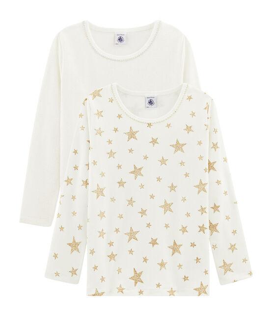 Girls' Long-sleeved T-Shirt - Set of 2 . set