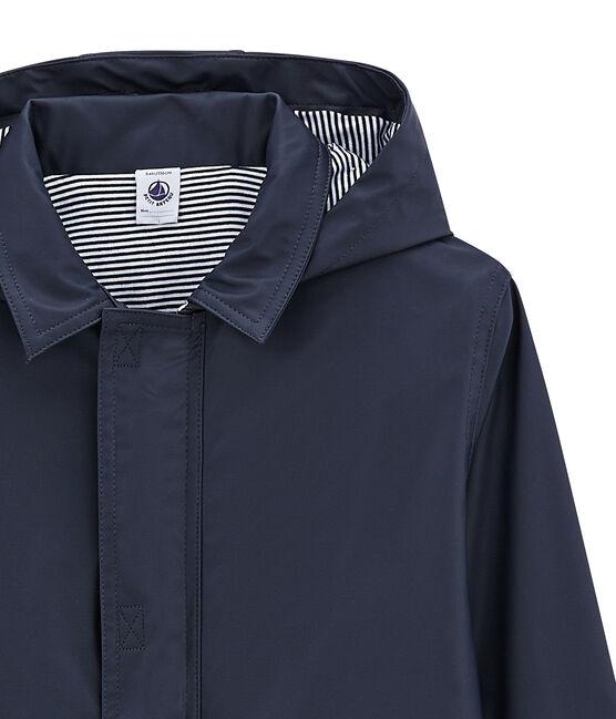 Unisex Children's Waxed Coat Smoking blue