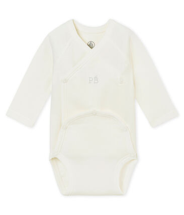 Newborn baby's long sleeved bodysuit