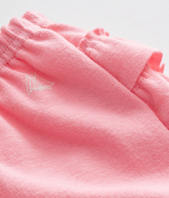 Baby girls' bloomers Petal pink