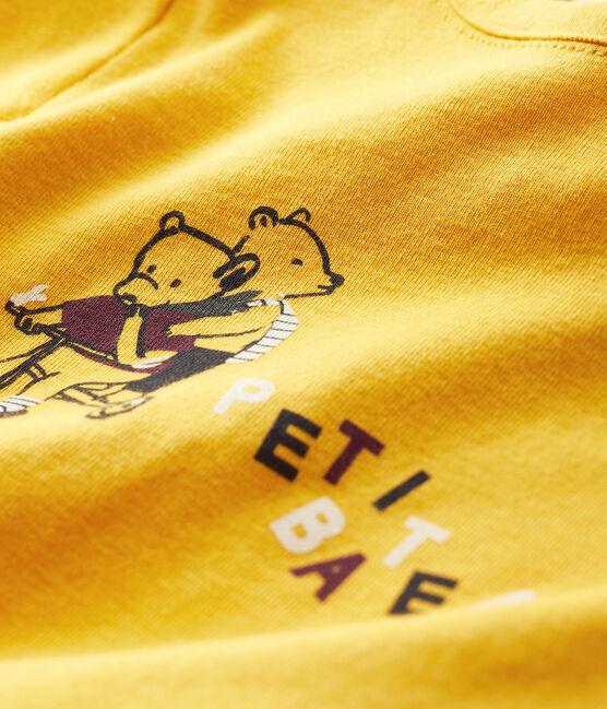 Baby boy's t-shirt Boudor yellow