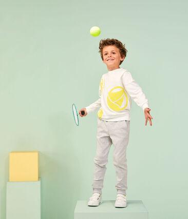 Boy's Sweatshirt Marshmallow white / Eblouis yellow