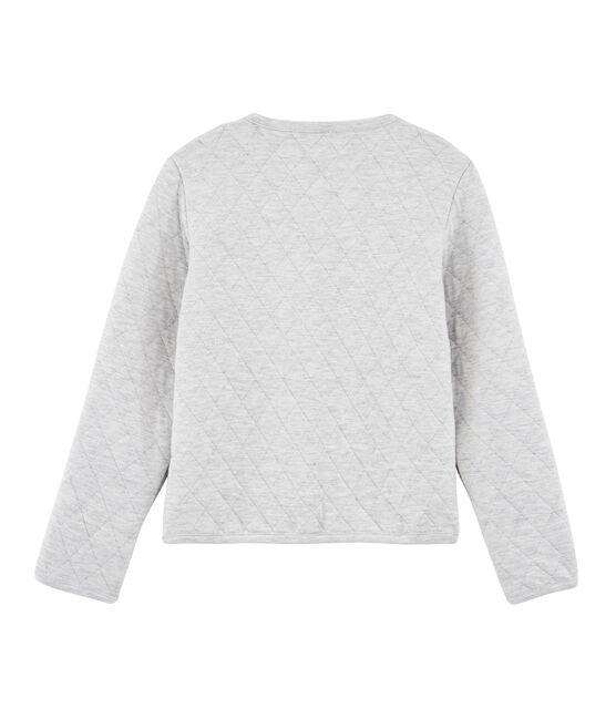 Girls' Cardigan Beluga grey