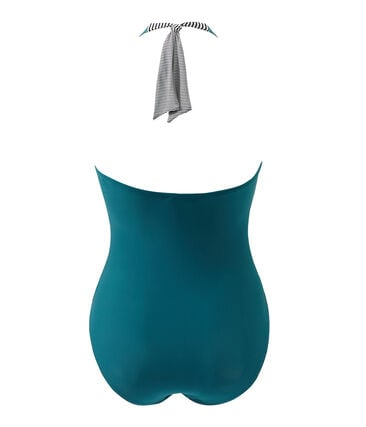 Women's one-piece swimsuit Rivage green
