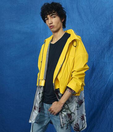 Raincoat Shine yellow / Multico white