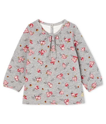 Baby Girls' Long-Sleeved Print Blouse