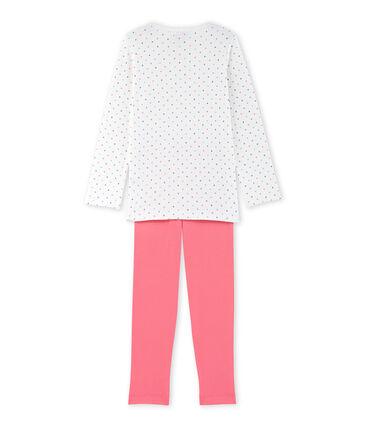 Girls' polka dot pyjamas