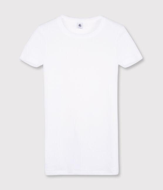 Women's Iconic Round Neck T-Shirt Ecume white