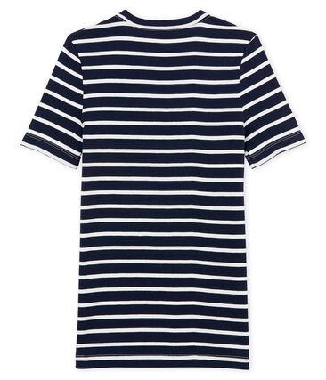 women's short sleeved striped t-shirt