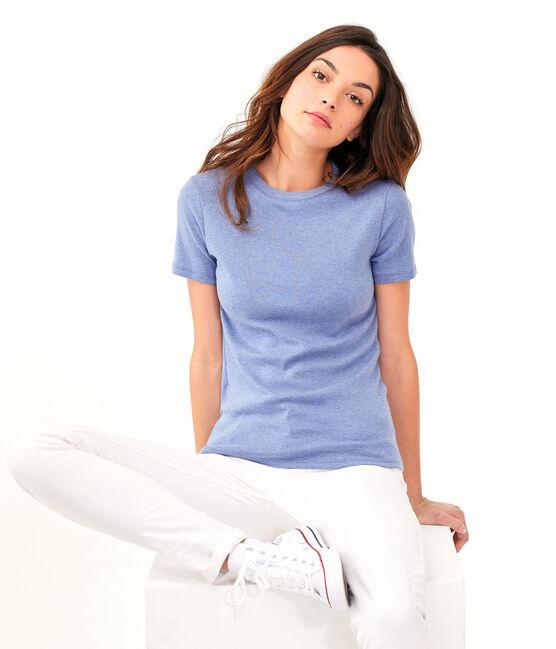 Women's Iconic T-Shirt Captain Chine blue