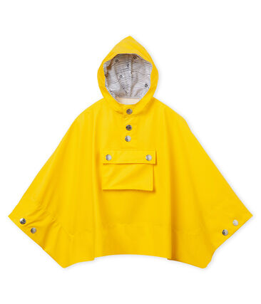 Unisex kids raincoat Jaune yellow