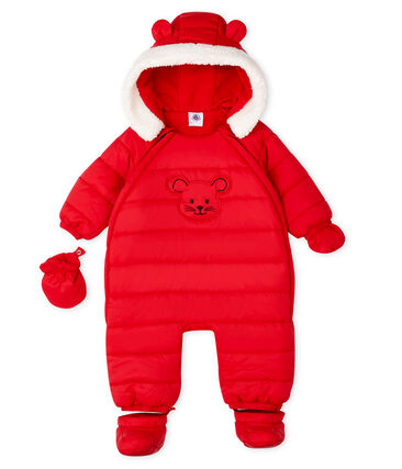 Unisex Babies' Snowsuit Terkuit red