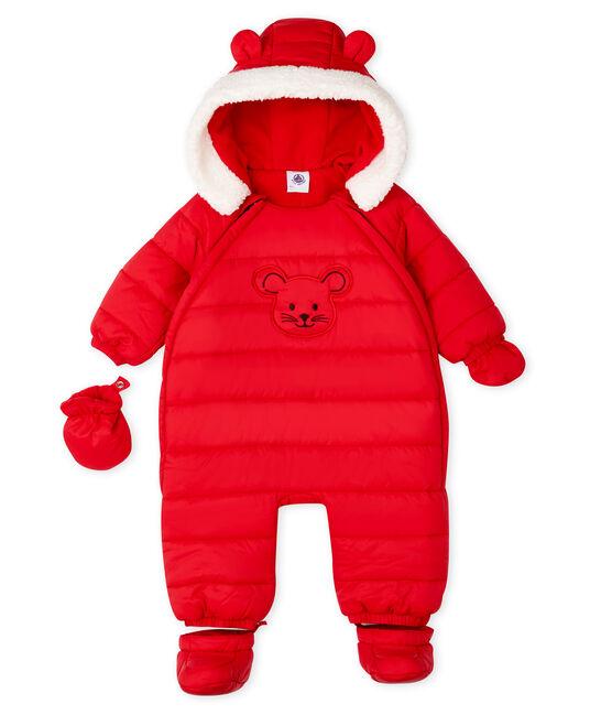 Unisex Babies' Snowsuit Terkuit red