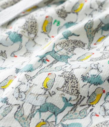 Baby Boys' Light Fleece Trousers Marshmallow white / Multico white