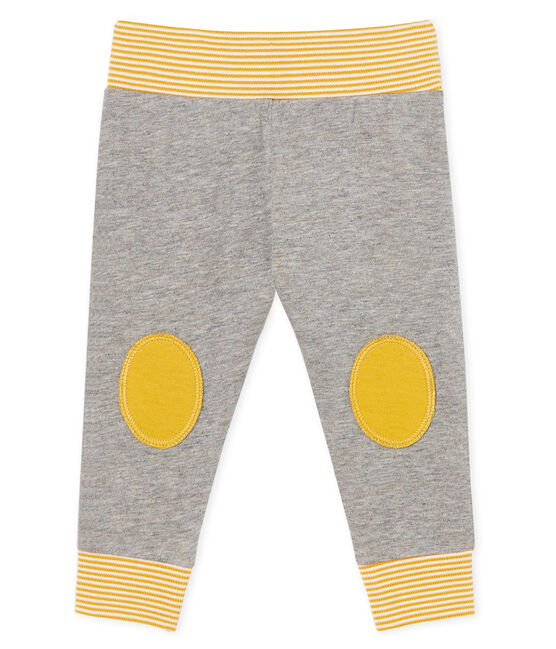 Baby Tube Knit Trousers Subway grey