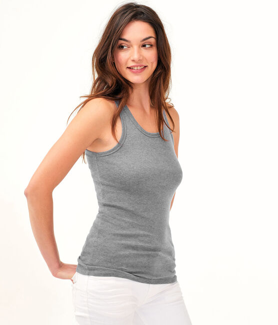 Women's Iconic Vest Subway grey