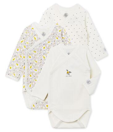 Newborn Baby Girls' Long-Sleeved Bodysuit - 3-Piece Set . set