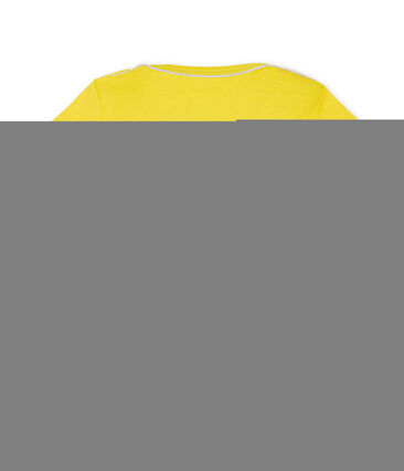Tee shirt manches courtes bébé garçon Shine yellow