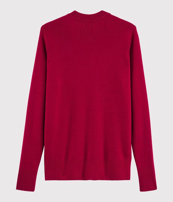 Women's woollen jumper Terkuit red