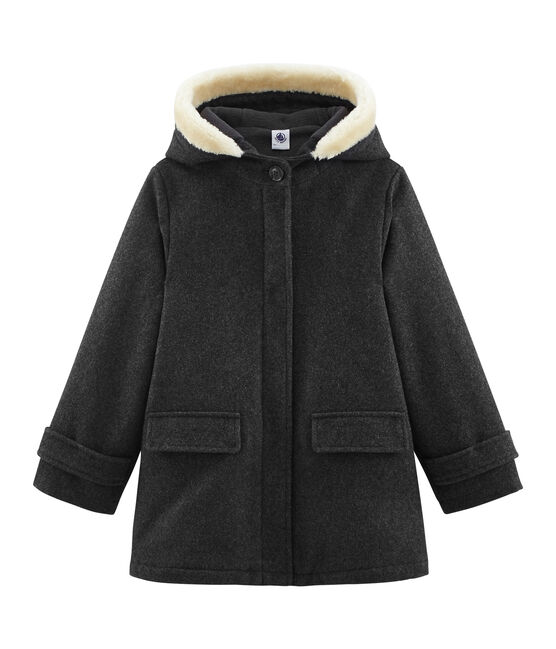 Girls' coat Subway grey