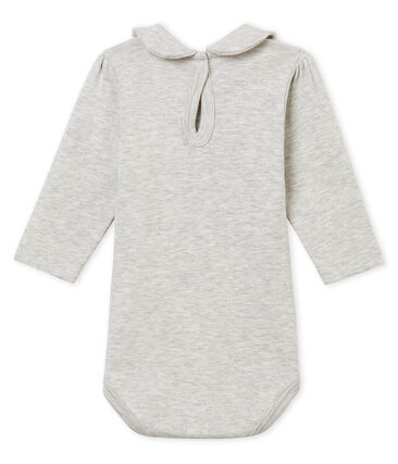 Baby girl's body with Peter Pan collar