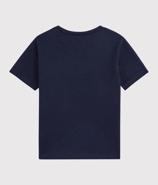 Boys' T-Shirt Smoking blue
