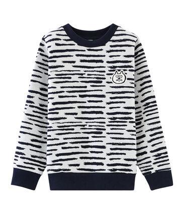 Sweatshirt Jean Jullien MARSHMALLOW/DASH