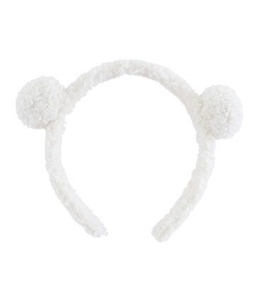 Girls' Alice Band Marshmallow white