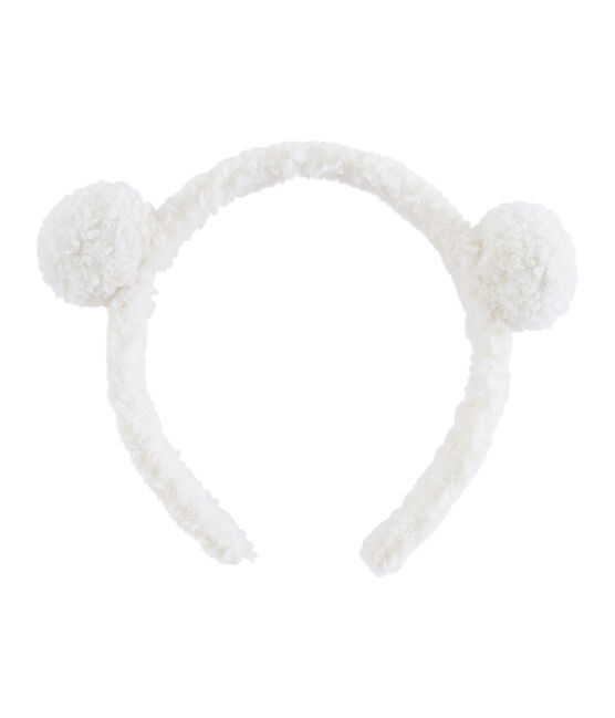 Girls' Alice Band Marshmallow white