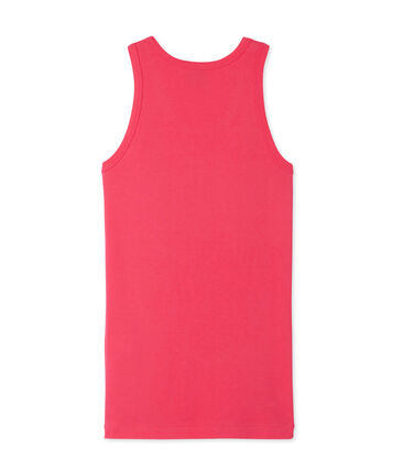 Women's vest top in heritage rib