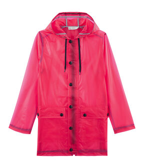 Women's Waxed Coat Geisha red