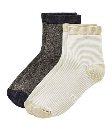 Pack of 2 pairs of women's socks