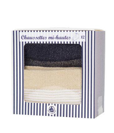 Pack of 2 pairs of women's socks . set