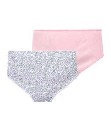 Set of 2 girls' shorties