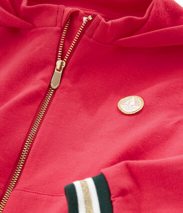 Girls' Hoody Signal red