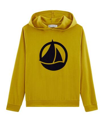 Ladies' hoody Bamboo yellow