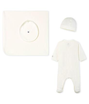 Babies' 1x1 Rib Knit Gift Set . set