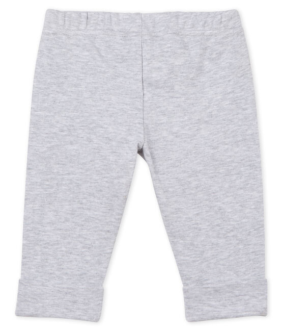 Baby Girls' Knit Trousers Poussiere Chine grey