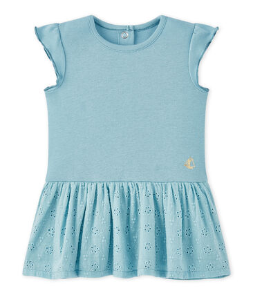 Baby girl's dress with butterfly sleeves